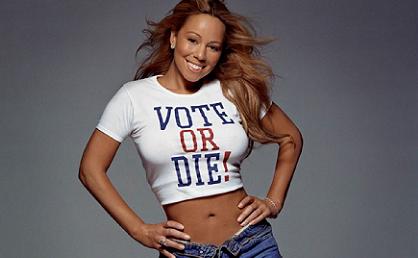 Image result for vote or die mariah